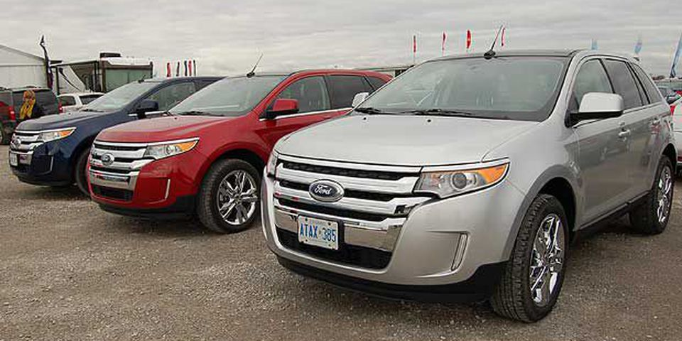 2011 Ford Edge. Winner: SUV, CUV, under $50k.