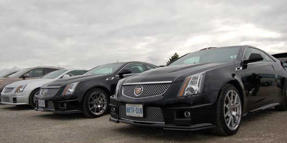 2011 Cadillac CTS-V Coupe. Winner: Sports, performance, over $50k.