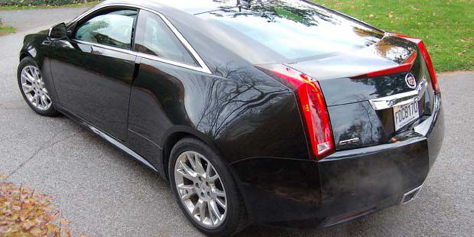 2010 Cadillac CTS Coupe.