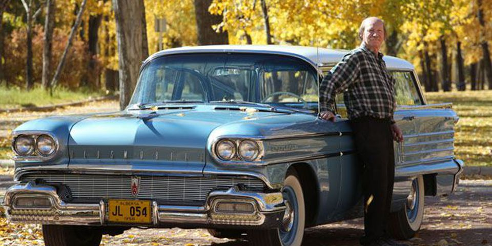 Ron Walder's 1958 Oldsmobile 88 Fiesta station wagon.