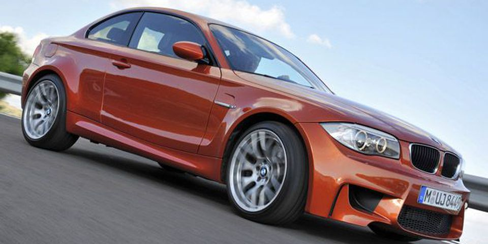 2012 BMW 1 Series M Coupe.