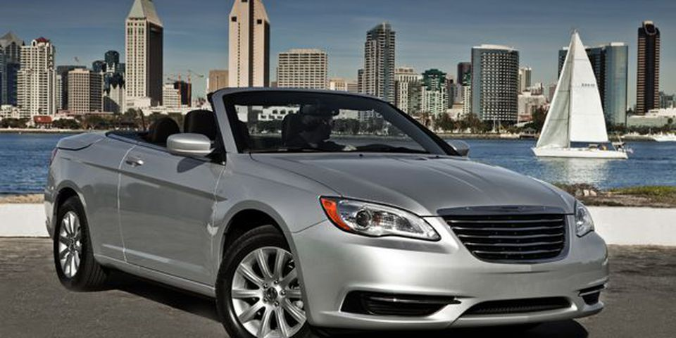 2011 Chrysler 200 convertible.