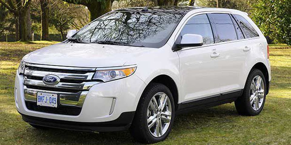 The 2011 Ford Edge.