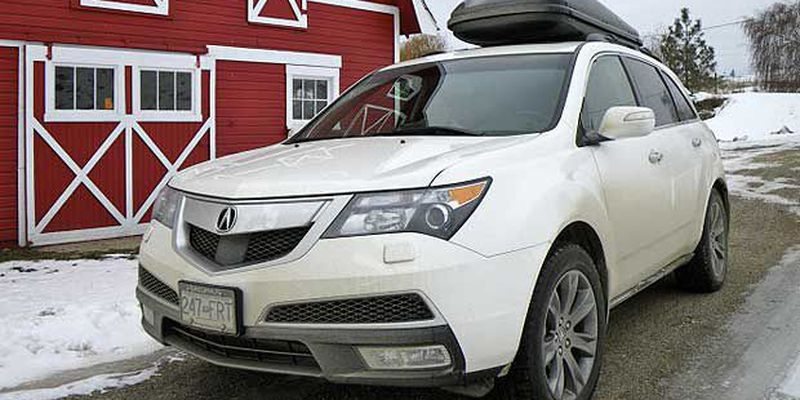 MDX is capable of towing a 2,268-kilogram trailer, should you wish to bring a snowmobile along.