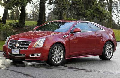 The 2011 Cadillac CTS Coupe.
