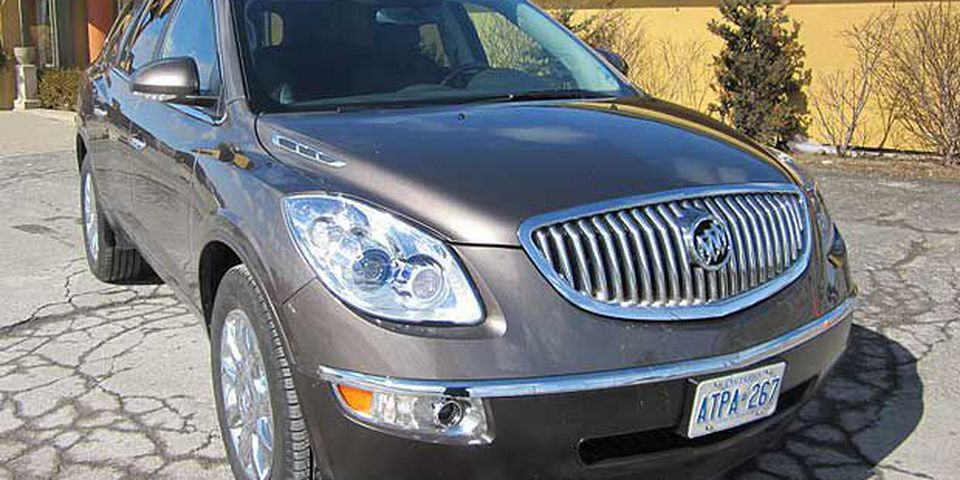 The 2011 Buick Enclave.