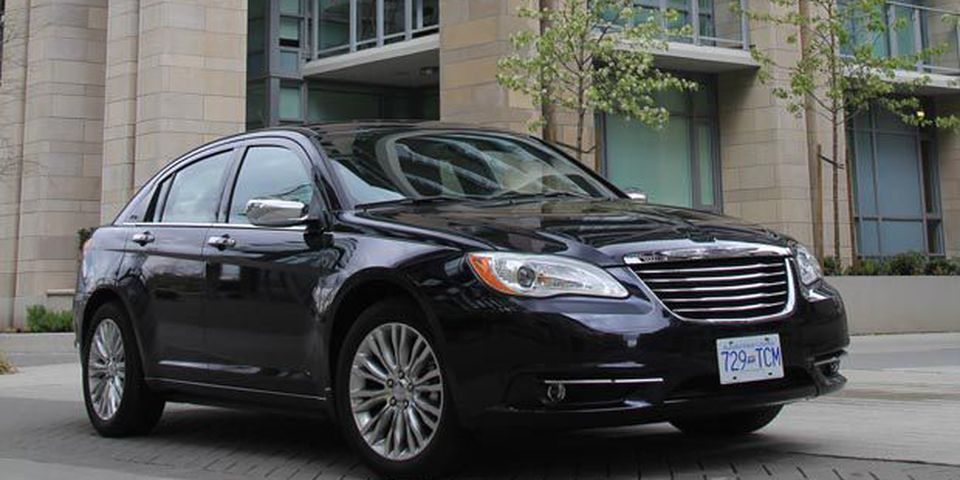2011 Chrysler 200 sedan.