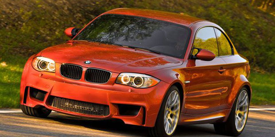 2012 BMW 135i M Coupe.