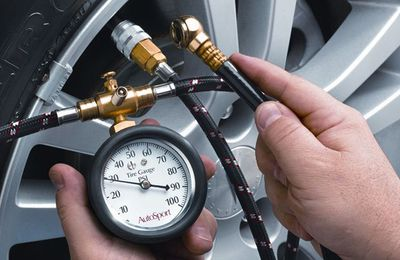 It's smart to invest in a proper tire-pressure gauge and check tire pressure once a month.