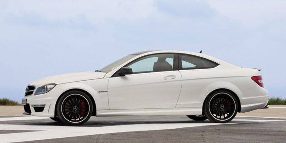 2012 Mercedes-Benz C63 AMG Coupe.