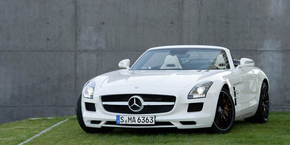 2012 Mercedes-Benz SLS AMG Roadster.