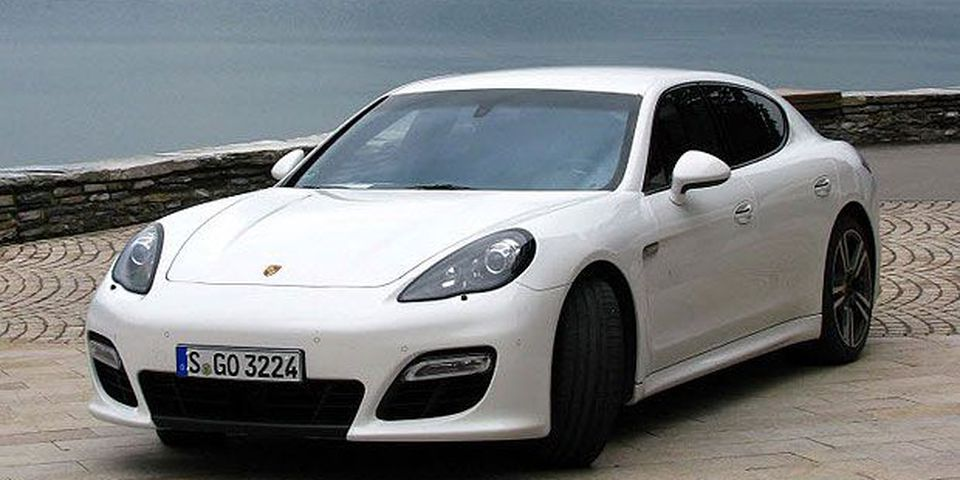 The 2012 Porsche Panamera Turbo S.