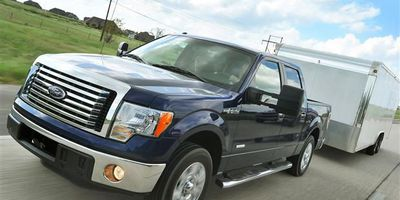The 2011 Ford F-150.