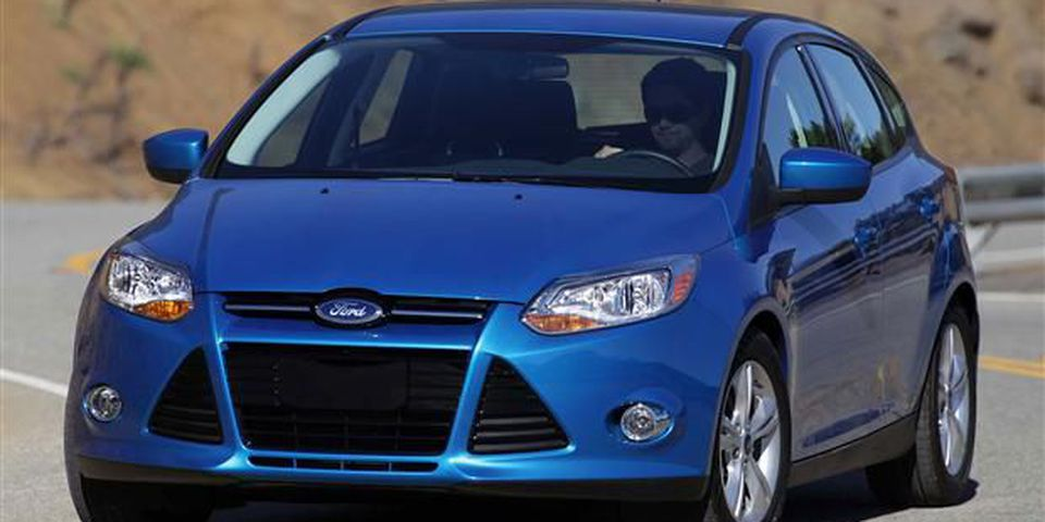 The all-new 2012 Ford Focus SE - pictured here against the Southern California backdrop of the all-media drive - raises the C-segment bar for style, technology, driving dynamics and fuel economy.