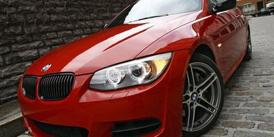 The 2011 BMW 335is is not shy about it's performance roots with blacktrim, grilles and exhaust tips.
