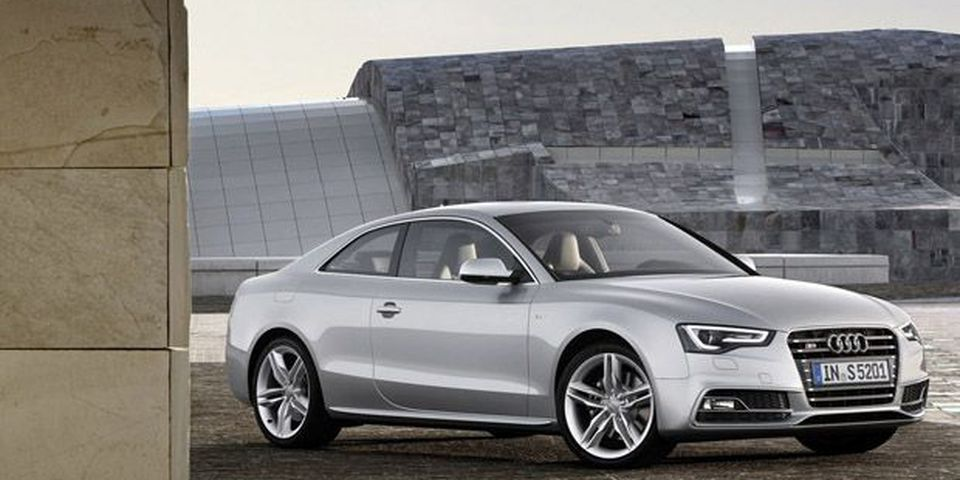 2012 Audi S5 Coupe.
