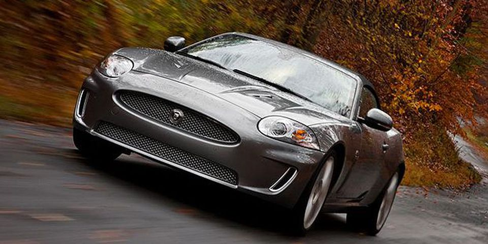 The 2011 Jaguar XKR Convertible.