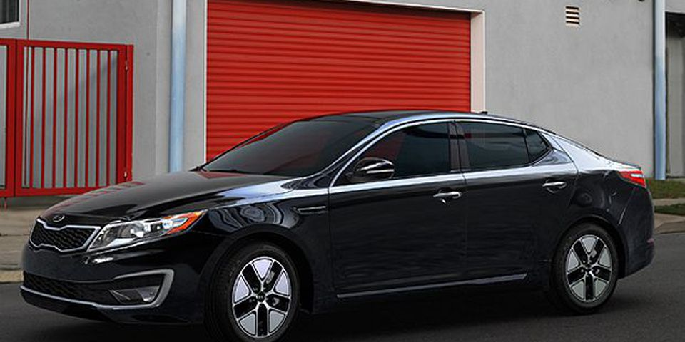 The 2011 Kia Optima Hybrid.
