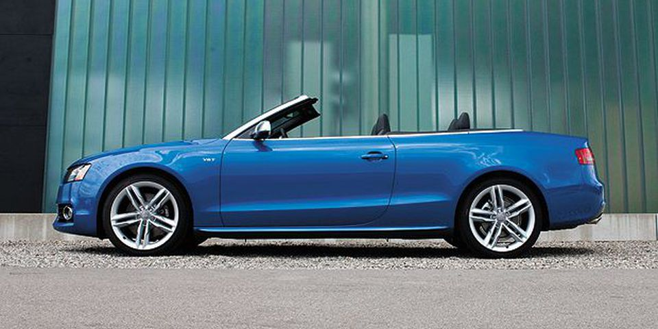 The 2011 Audi S5 Cabriolet 3.0 TFSI (Supercharged).