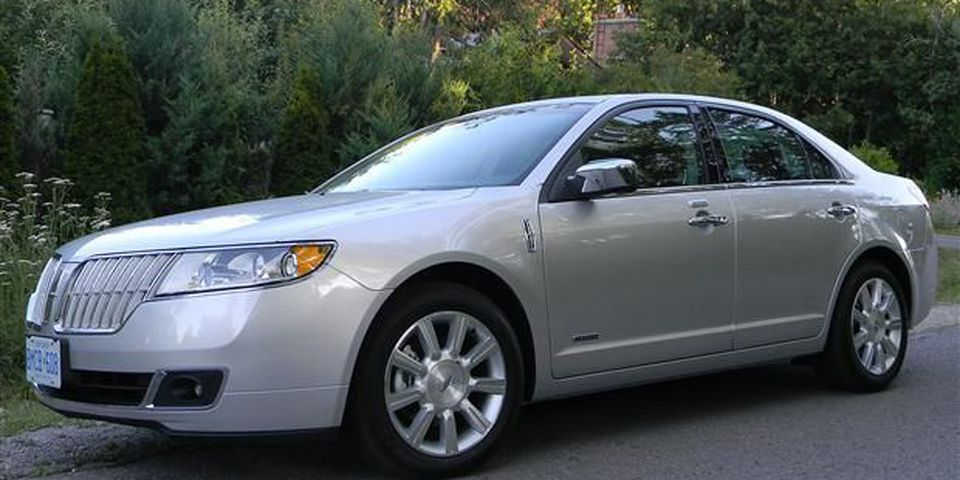 The 2012 Lincoln MKZ Hybrid.