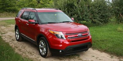 2012 Ford Explorer with EcoBoost.