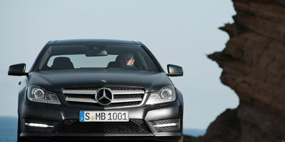 2012 Mercedes-Benz C-Class Coupe.