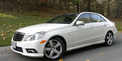2011 Mercedes-Benz E 350 BlueTec.