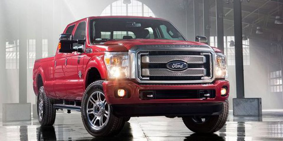 2013 F-Series Super Duty.