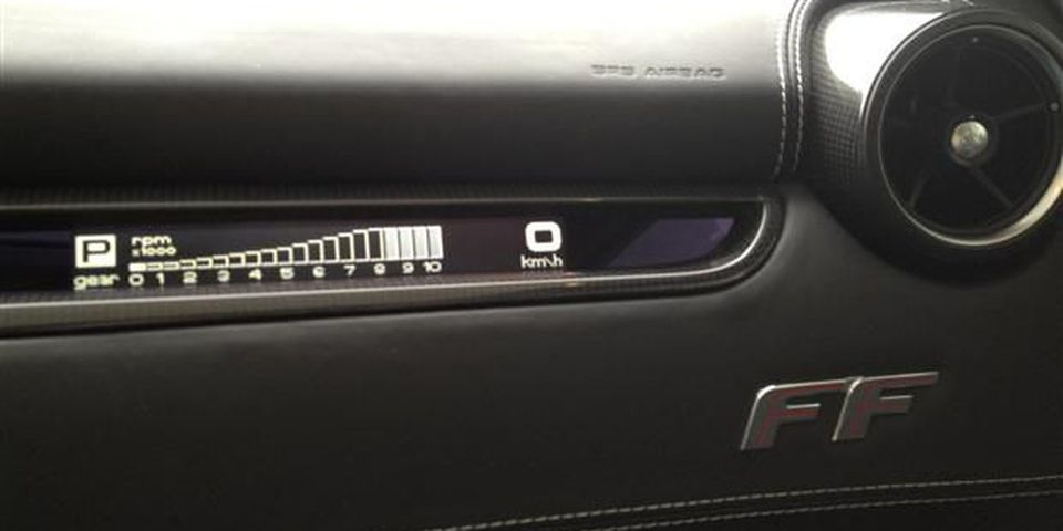The 'Passenger Display' is an optional feature that shows the passenger the vehicle's speed, rpm and gear.