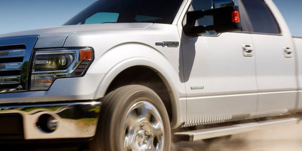 2013 Ford F-150.