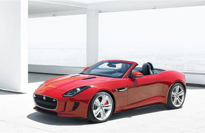 2014 Jaguar F-Type.