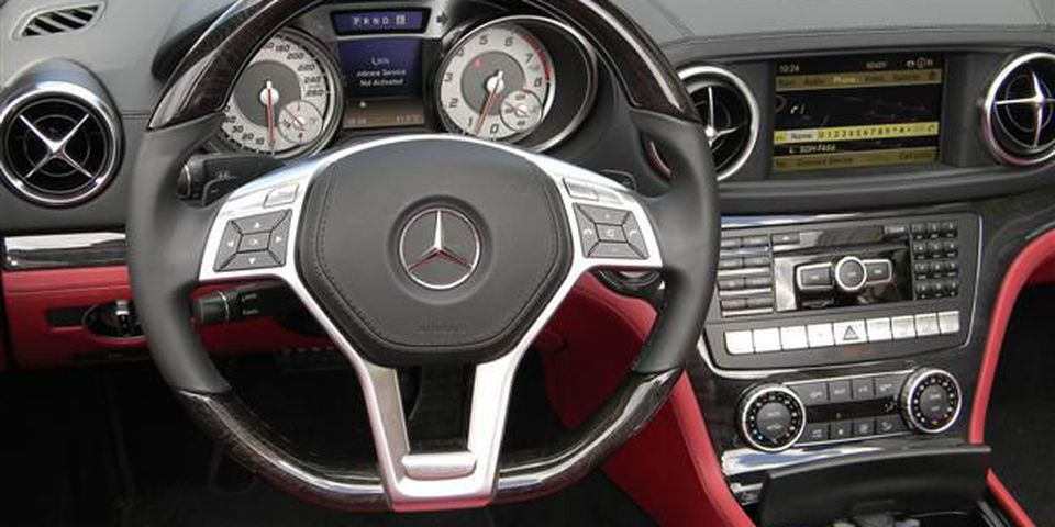 2013 Mercedes-Benz SL 550.