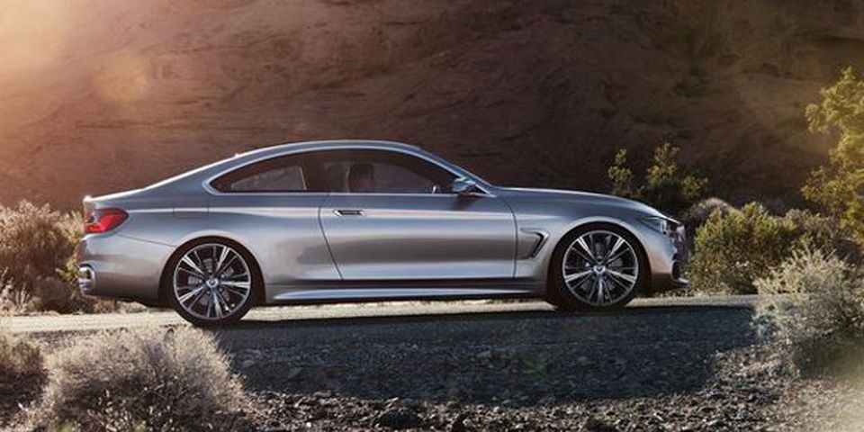 BMW 4-Series Coupe Concept.