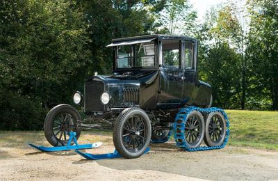 "1925 Model T ""Snow Flyer"" Coupe"