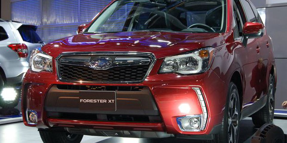 2014 Subaru Forester XT at the 2013 Montreal Auto Show.
