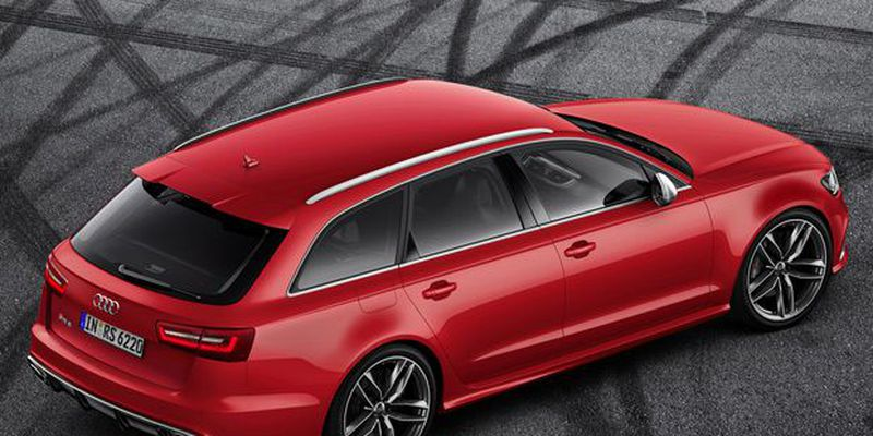 The Audi RS6 Avant produces 553 horsepower and 516 lb-ft of torque.