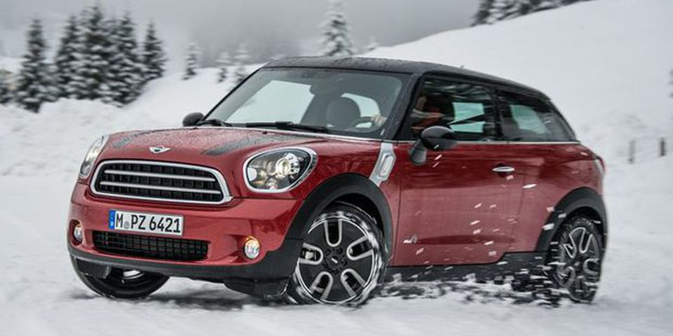 2014 Mini Paceman ALL4.