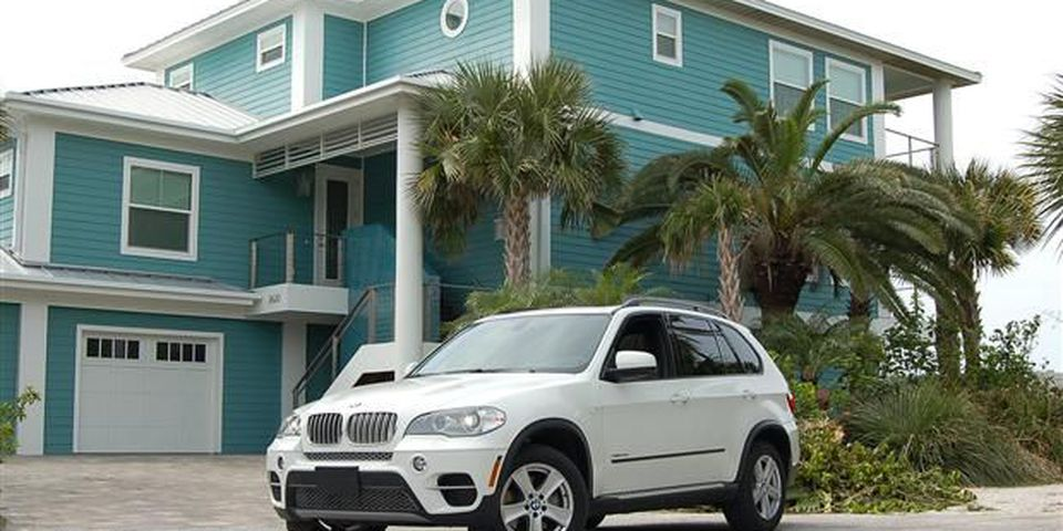 BMW X5 xDrive35d in St. Petersburg Florida.