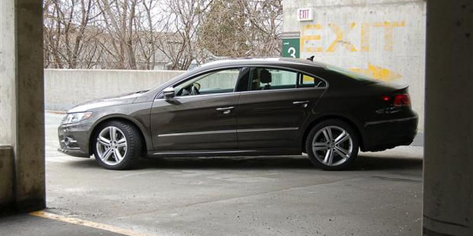 2013 Volkswagen CC with R-Line.
