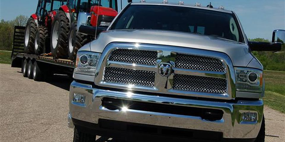 2013 Ram 3500 HD Laramie Long Horn.