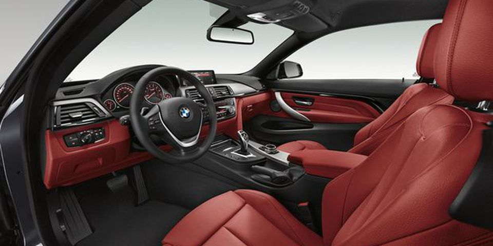 2014 BMW 4 Series Coupe.