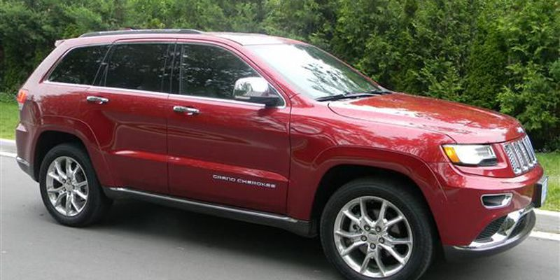 2014 Jeep Grand Cherokee Summit.