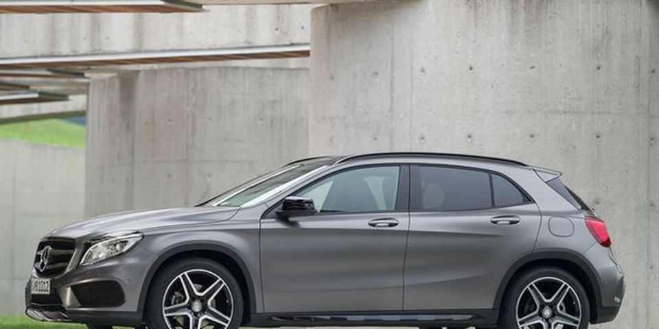 2015 Mercedes-Benz GLA.