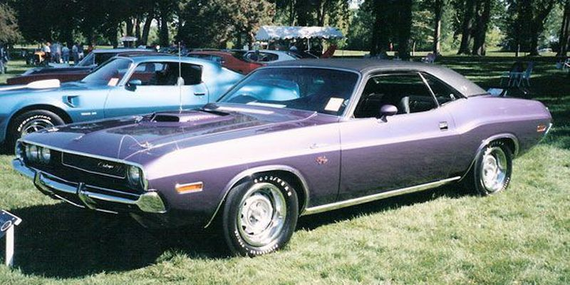 The stylish Dodge Challenger didn't enter the market in time to cash in on the pony car craze