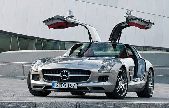 The 2011 Mercedes-Benz SLS AMG.