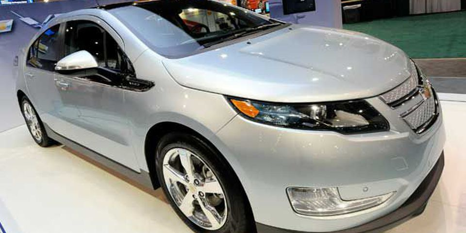 Chevrolet Volt electric hybrid vehicle.