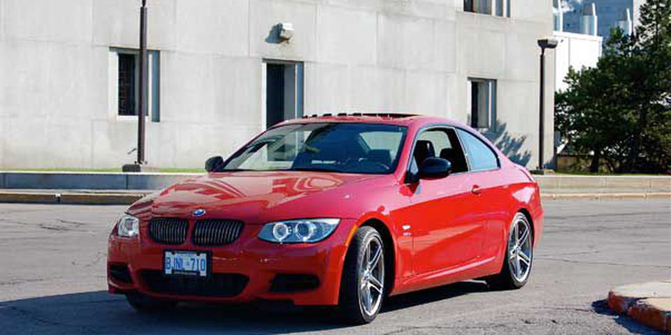 BMW 335is Coupe.