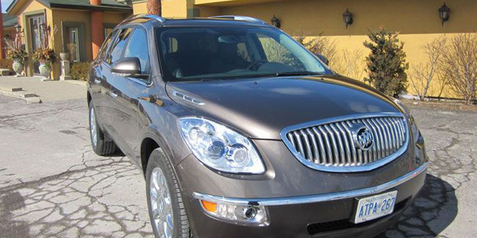 Buick's Enclave has the flexibility to haul a lot of people and their stuff.
