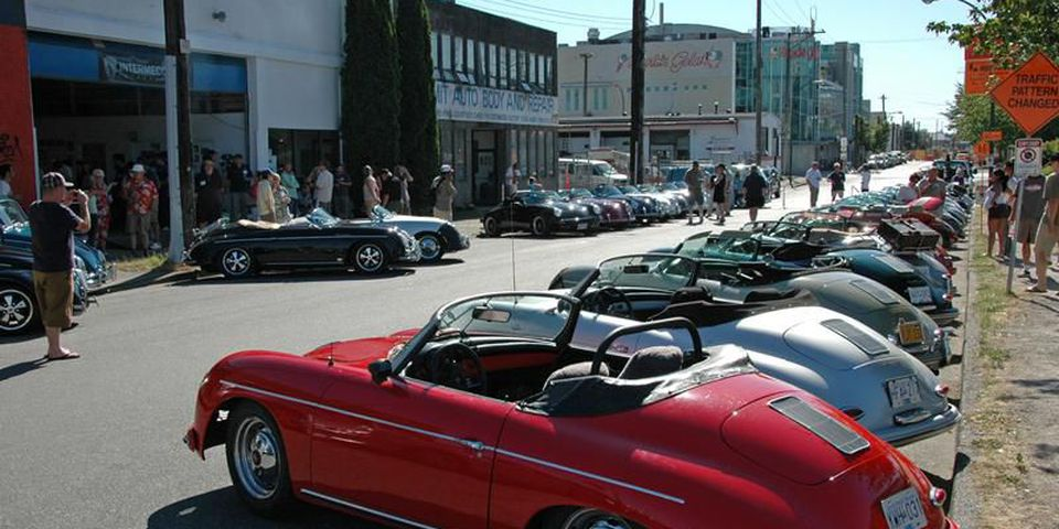 Intermeccanica Speedster and Roadster owners from all over North America have met for a summer weekend of motoring for years, but this SundayÕs barbecue at the sports car makerÕs Vancouver shop will be a special celebration marking the 50th anniversary of the company,