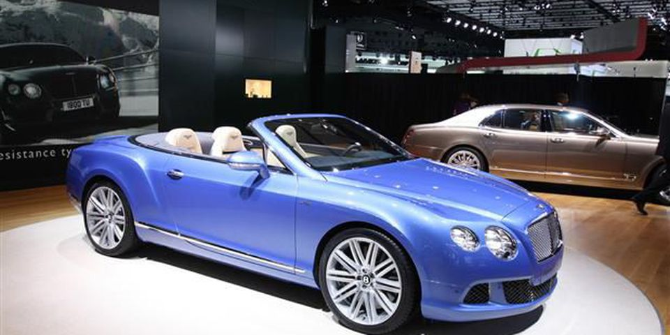 Sure, only a handful of them will be sold in Canada, but that doesn't take away from the sheer awesomeness of the 2014 Bentley GT Speed Convertible. With its 625-horsepower W12 engine, it takes the crown as the world's fastest four-seat convertible.